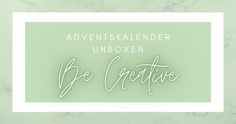 Adventskalender van Be Creative: Midnight Red