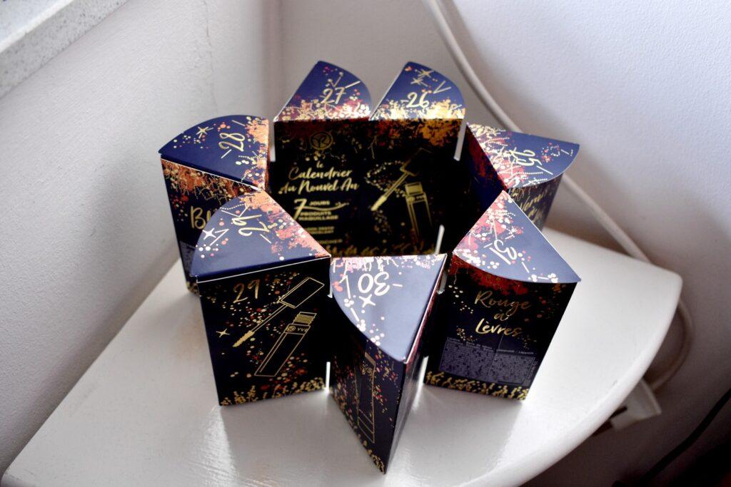 De Nieuwjaarskalender van Yves Rocher in stervorm
