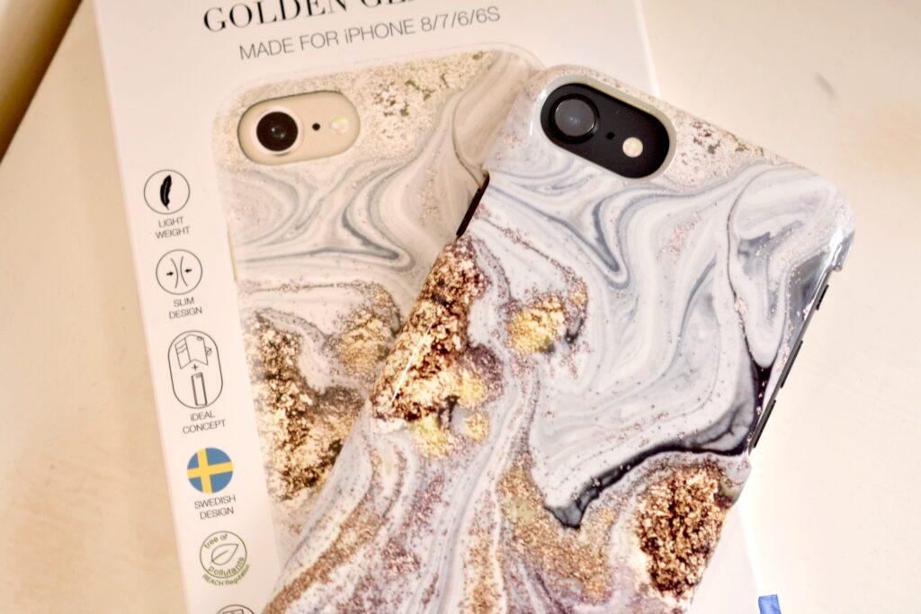 Golden Glamour hoesje van iDeal of Sweden