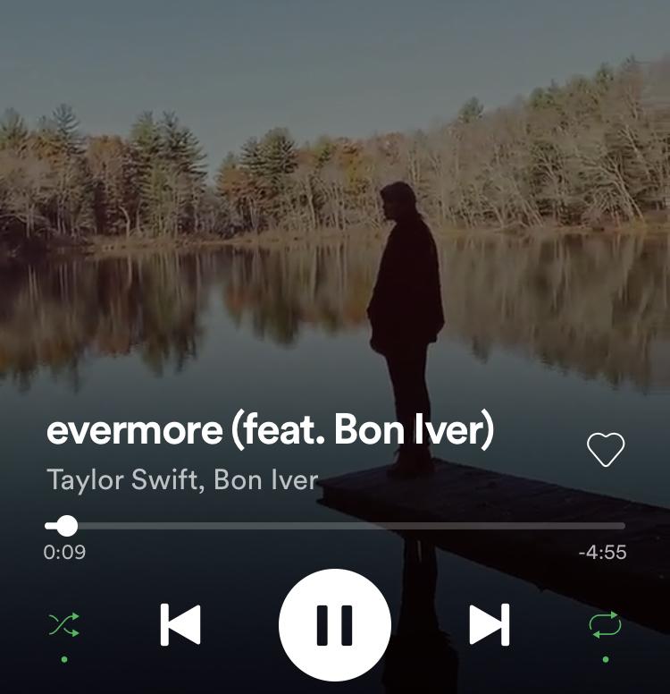 Over favorieten van december gesproken: Evermore, het nieuwste album van Taylor Swift!